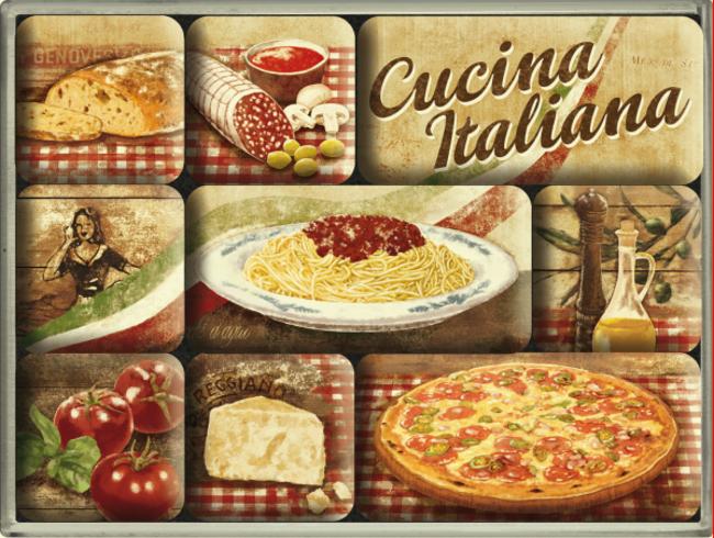 Cucina italiana magnet set for P cucina italiana